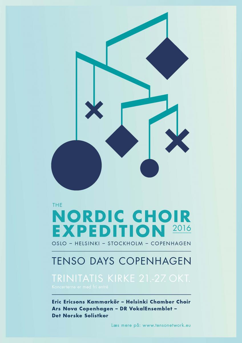 The Nordic Choir Expedition poster